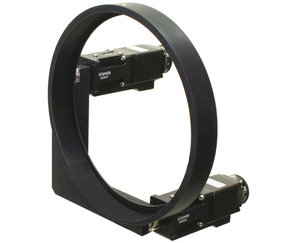 8MBM57 - Large Aperture Motorized Mirror Mount